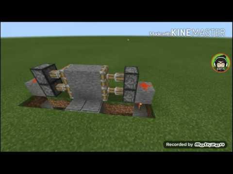 Quick tips#11 Cara membuat ruangan rahasia di minecraft pe