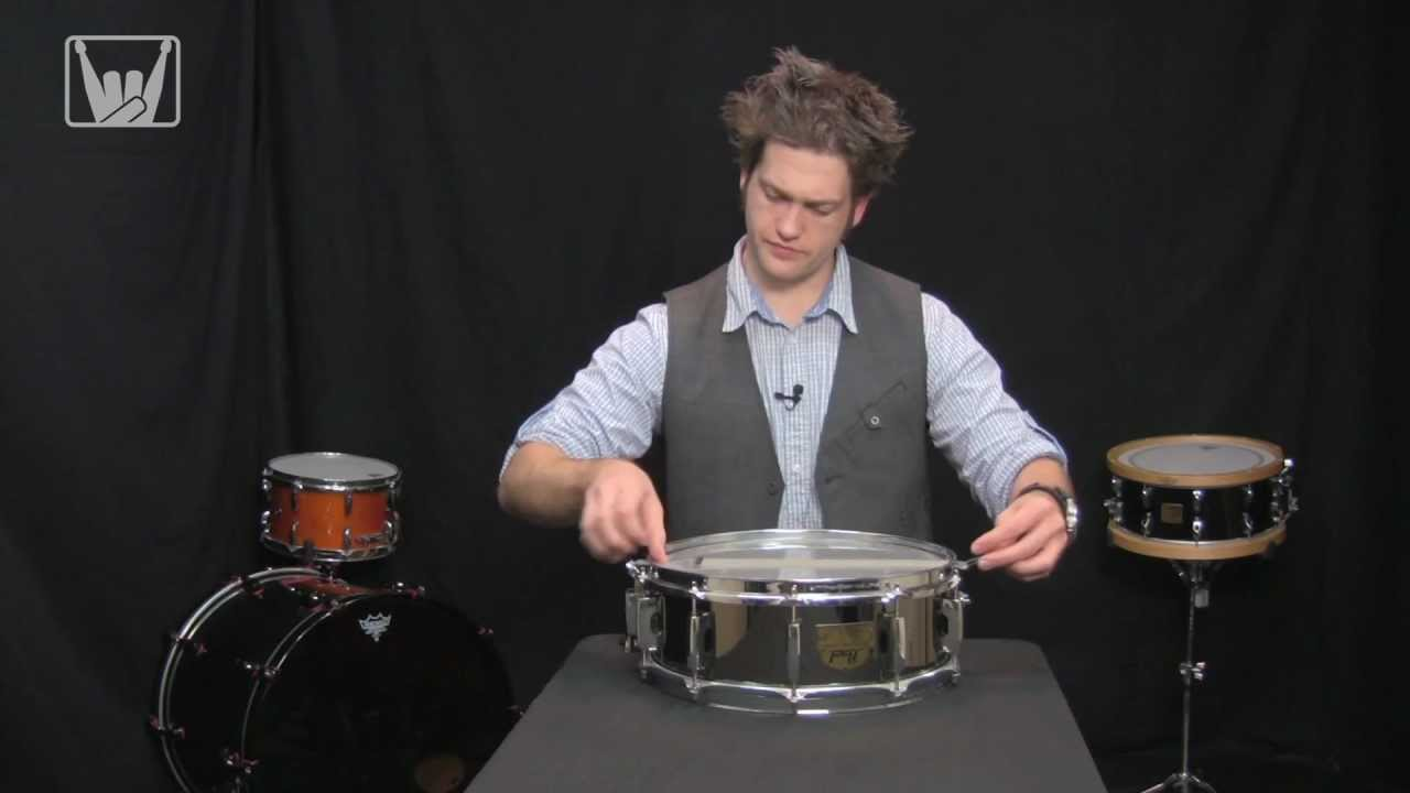 Anatomy Of A Snare Drum pt3 - Tech & Tuning with Kurt - YouTube