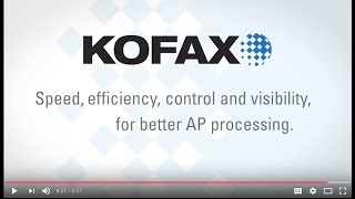 Kofax Invoice and AP Automation Solutions