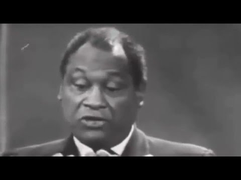 Paul Robeson Speaks on Colonialism and African American Rights, ABC 1960