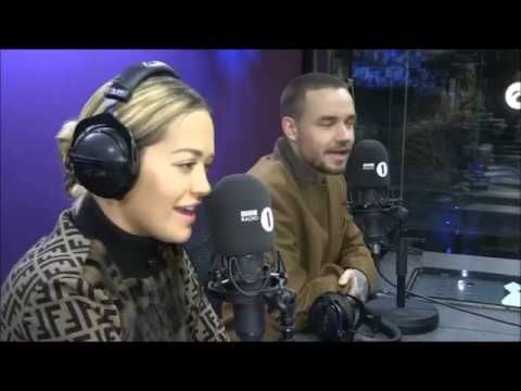Rita Ora Liam Payne Grimmy BBC Radio 1 2018