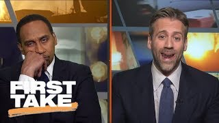Stephen A. Smith reacts to LaVar Ball