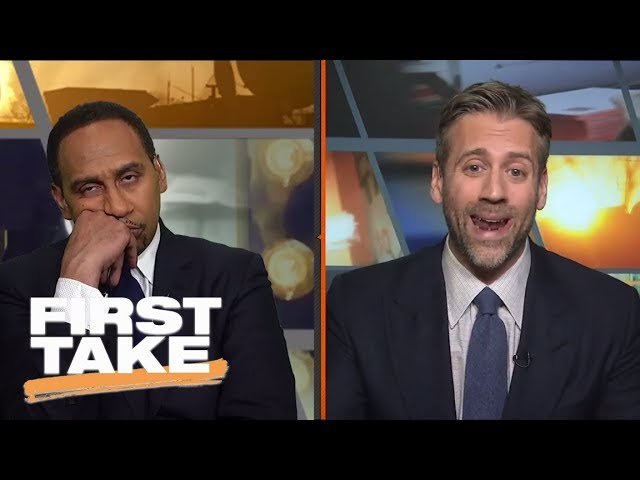 Stephen A. Smith reacts to LaVar Ball's CNN interview on President Trump   First Take   ESPN