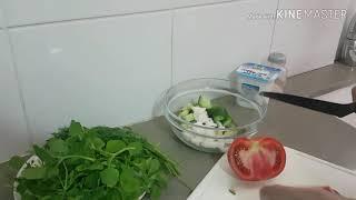 Vlog Овощной салат с Мокрицой- Звездчатка лекарственная трава свойств столько же сколько у женьшеня.