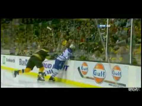 Hardest hit in NHL history EVER