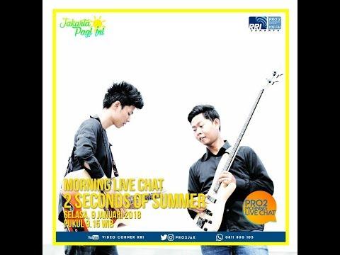 2 Seconds Of Reason - Morning Live Chat Pro 2 FM Jakarta (Video Corner RRI)