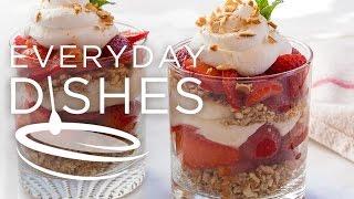 Strawberry Pretzel Salad Two Ways