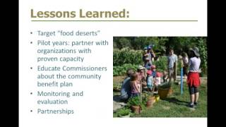 Success Stories in Sustainability: The Common Ground Program
