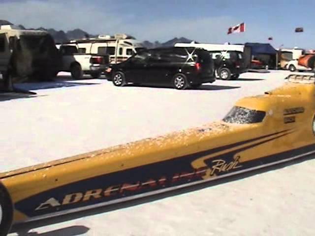 Bonneville Speed Week 2011 -- Adrenaline Rush Lakester