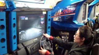 Initial D6 Arcade Machine - Player Demonstration