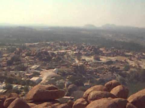 The Lost Kingdom of Vijayanagar Empire - HAMPI - Hill Top View -हम्पि