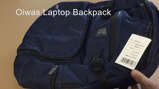 Oiwas Tablet, Laptop Backpack, Carry-on - Lightweight Water-resistant, unisex