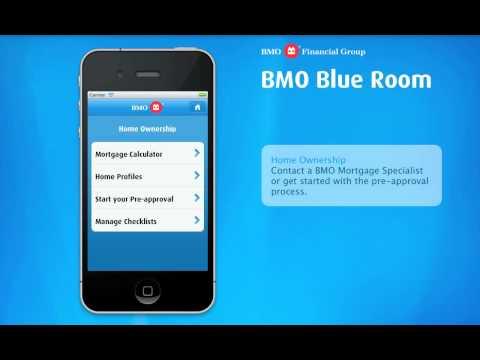 BMO Blue Room App
