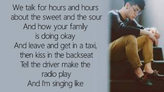 SHAPE OF YOU - Ed Sheeran cover by Tom Room39 / Lyrics