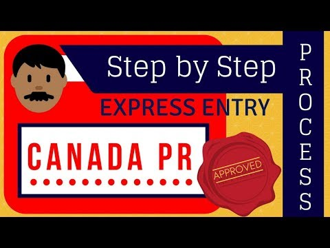 🇨🇦 Canada PR Step By Step Process ( Express Entry 2018)