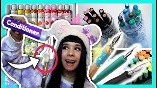 12 Artist LIFE HACKS You Need To Try (Part 2) ❤ Copics, Oil & Acrylic Paint, Quill Pens & MORE!