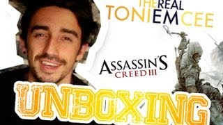 Unboxing Assassins Creed III: Freedom Edition | TheRealToniemcee