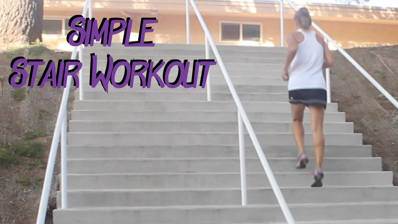 Simple Stair Workout