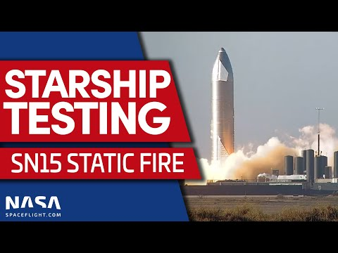 LIVE: Starship SN15 Static Fire #2
