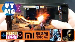 Как Идет WWE Immortals, Mortal Combat X на Xiaomi Redmi Note 4X
