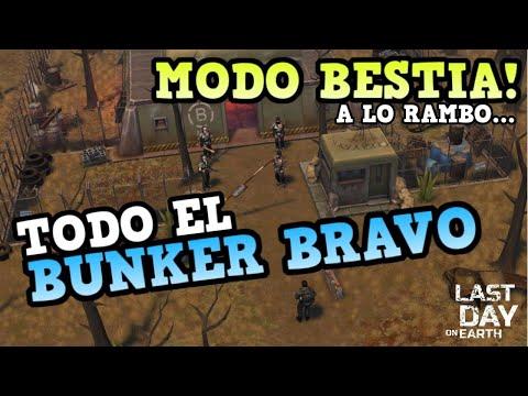 BUNKER BRAVO EN MODO BESTIA! | LAST DAY ON EARTH: SURVIVAL | TODOS LOS PISOS [RidoMeyer]