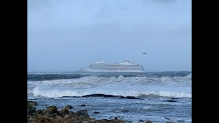 Norway airlifting 1,300 passengers off SOS cruise ship: emergency services