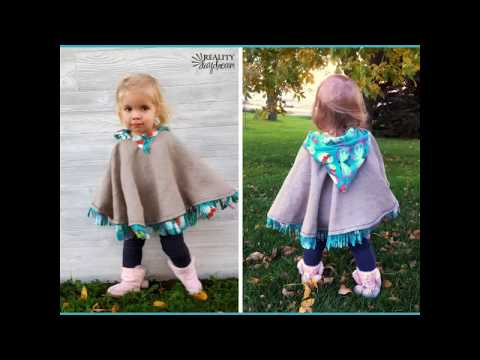 DIY Carseat Poncho Tutorial ...with a no-sew option!