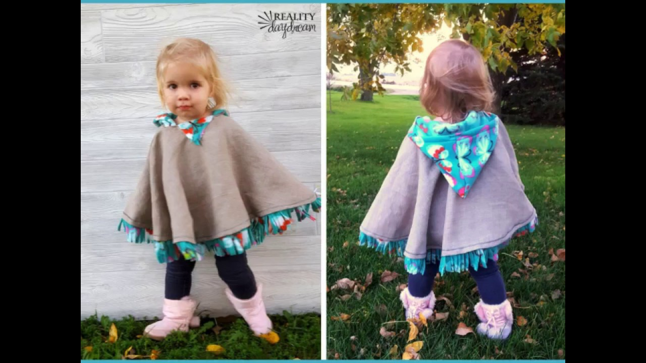 DIY Carseat Poncho Tutorial With A No Sew Option