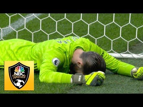 David De Gea howler gifts Watford lead v. Man United | Premier League | NBC Sports