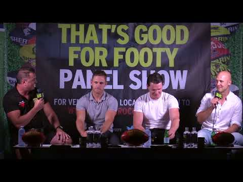 "Footy show ""That's Good for Footy"" presents, Geelong's Catrick"