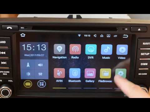 how to change navigation app in car dvd gps radio player android 7 1