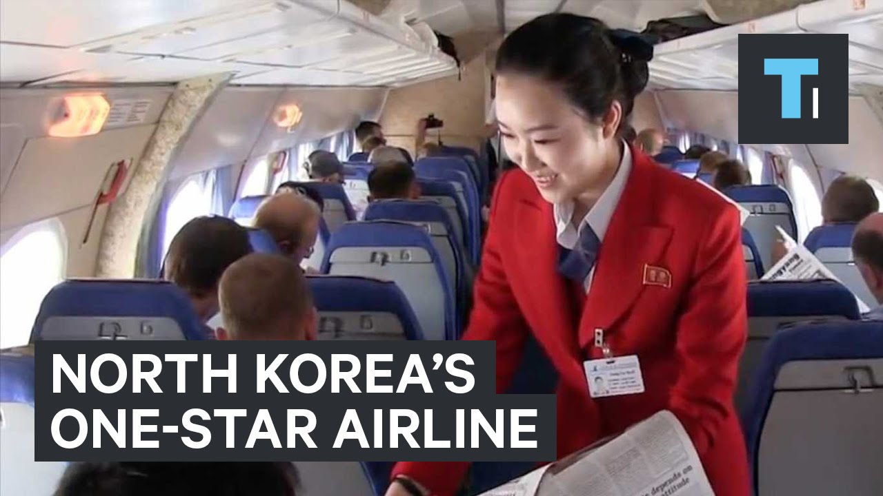 North Korea's one-star airline - YouTube