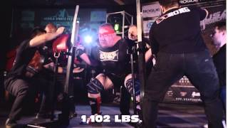 WORLD RECORD SQUAT | 1,102 POUNDS | 500 KG | DABBING