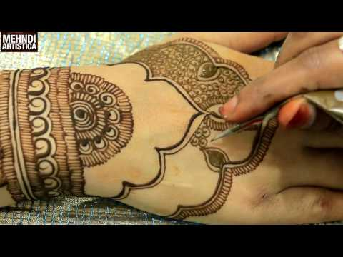 New Henna Mehndi Trend:Latest Mehendi Designs For Upper Side(Wedding Mahendi)|MehndiArtistica