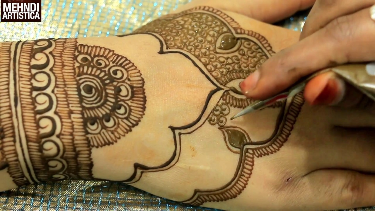 Mehndi Designs Upper Hand : New henna mehndi trend latest mehendi designs for upper