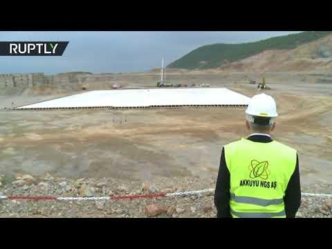 انطلاق أعمال إنشاء أول محطة ذرية في تركيا  - نشر قبل 1 ساعة