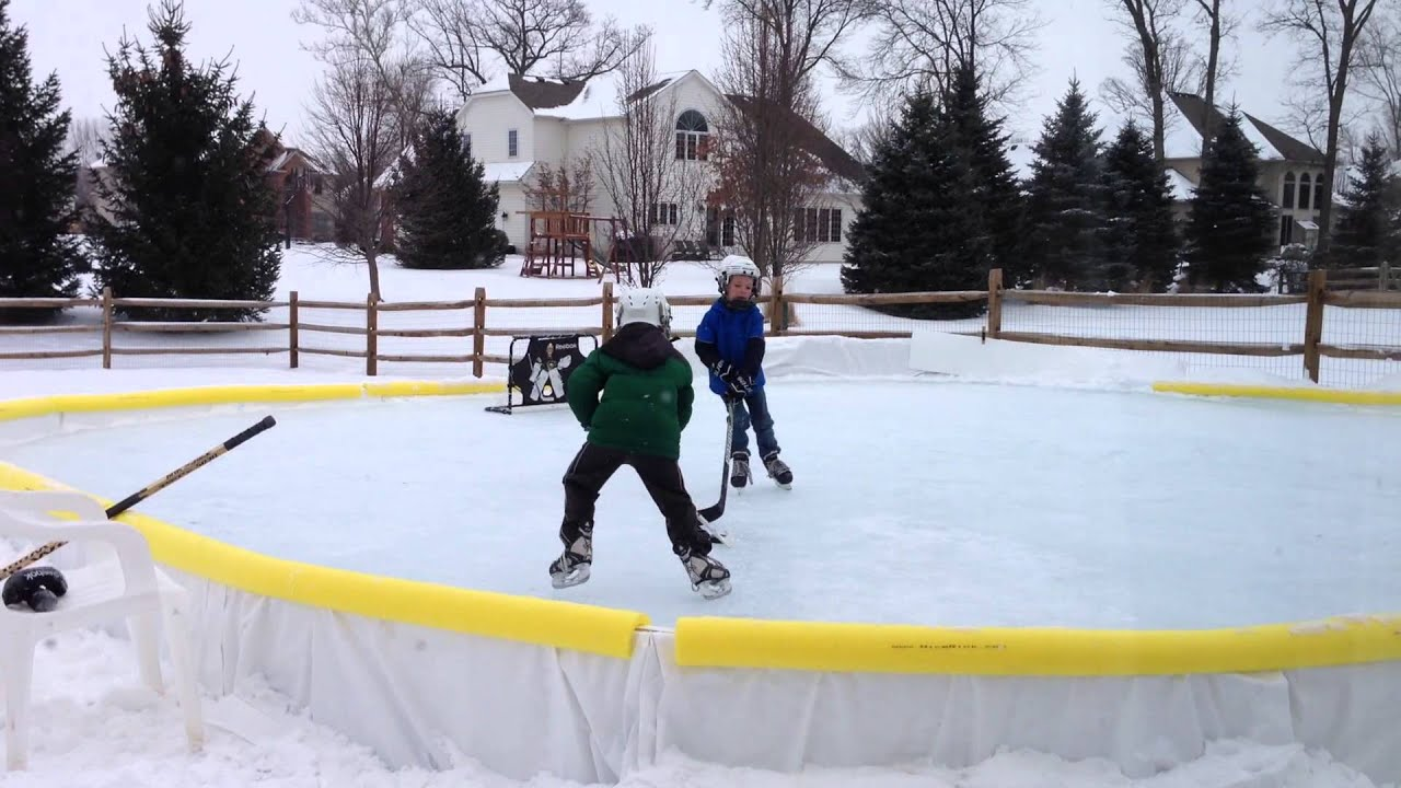 a little backyard nicerink one on one youtube