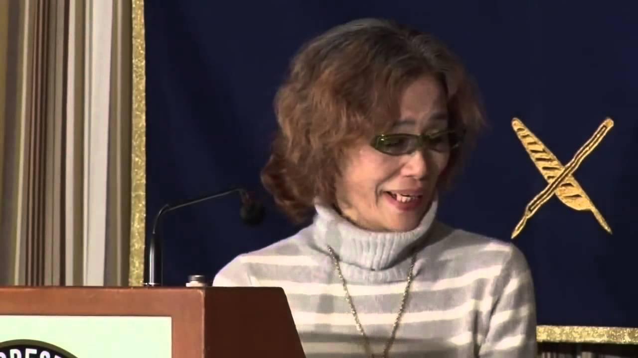 【イスラム国人質】後藤健二氏の母会見 (Junko Ishido, Mother of Kenji Goto who is a Hostage by  the Islamic Sta