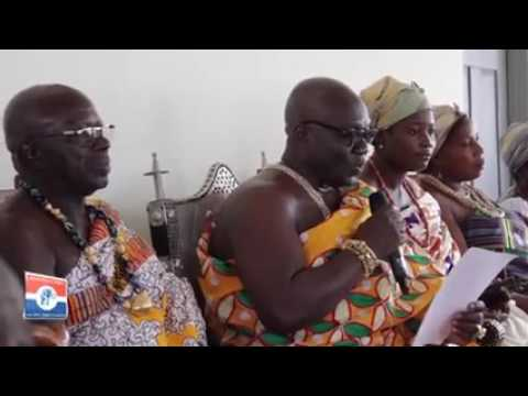 Togbe Gbogbololo V endorses Akufo-Addo's 1-District-1-Factory
