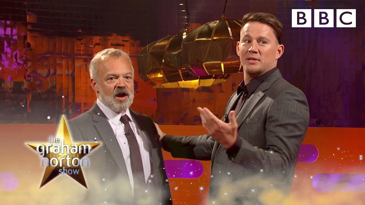 Channing Tatum and Graham Norton's sexy Magic Mike dance moves - BBC