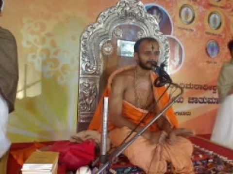Bengaluru Chaturmasya- Upanyasa (Spiritual Discourse) by Sri Satyatma theertha Swamy