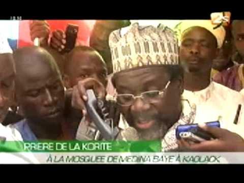 Prière de la Korité à la Mosquée Médina Baye à Kaolack - 21 Août 2012 - Partie 1
