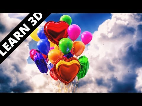 Blender  tutorial: Balloons