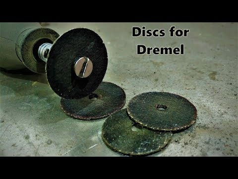 How to make cutting discs for Dremel