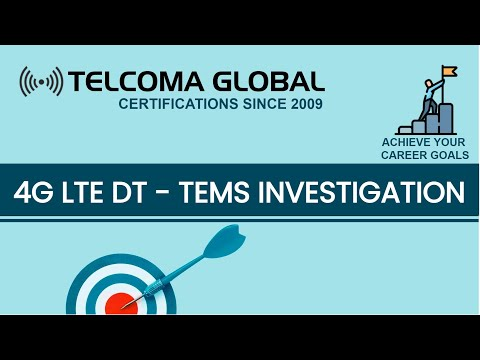 4G LTE DT (Drive Test) Parameters on ASCOM TEMS Investigation 17 . X (Real Time)