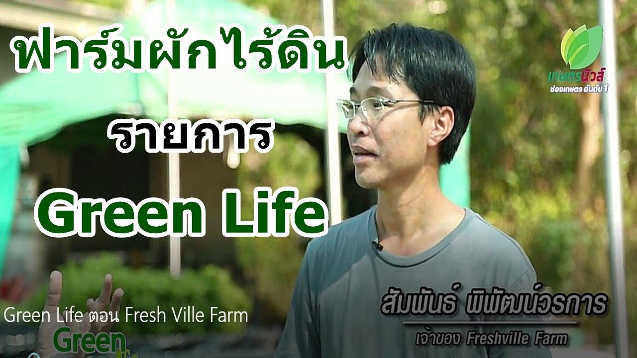 ฟาร์มผักไร้ดิน ฟาร์มเห็ดถังเช่าสีทอง Green Lifeโดย ฟาร์มเกษตรอัจฉริยะ Fresh Ville Farm