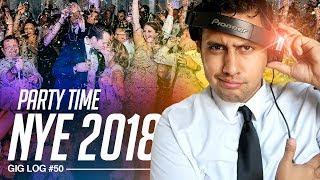 DJ Gig Log: Rocking a Massive 2018 NEW YEAR'S EVE PARTY    Chauvet DJ Funfetti Confetti Cannon