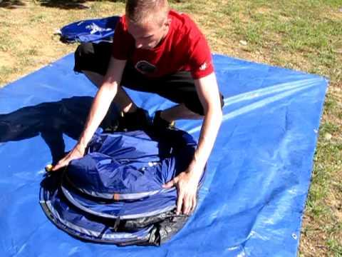 Pop Up Tent Opvouwen Instructievideo Hoe Moet Ik Ee