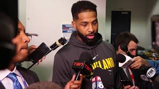 tristan thompson talks about tension with warriors
