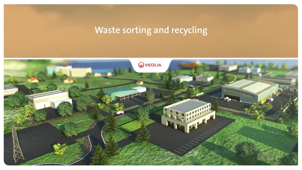 Waste sorting and recycling - Veolia